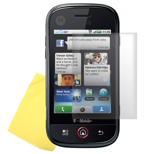 Motorola Cliq XT High Quality Privacy Screen Protector