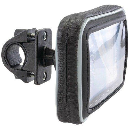 Arkon Black Water Resistant Protective Case Bicycle Handlebar Mount (GN032-SBH + WPCS5WS)