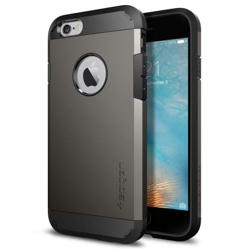 Apple iPhone 6s/6 Case, Spigen [Extreme Protection] Tough Armor Case w/ Air Cushion Technology [Gunmetal]