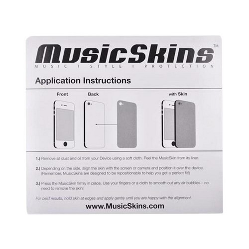 Original Music Skins Apple iPhone 5 Protective Skin - The Beatles Abbey Road
