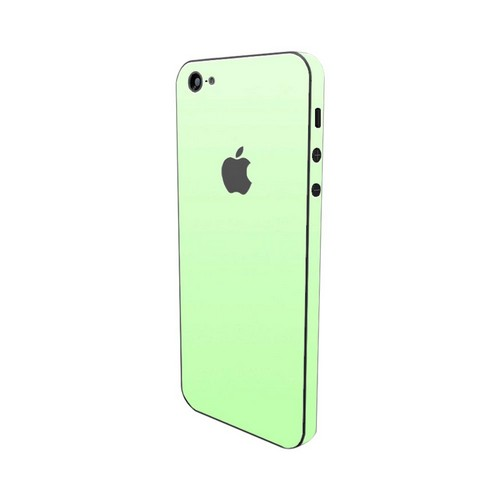 Apple iPhone SE/5/5S/5C, SlickWraps [Glow in the Dark Green] Protective Skin & Screen Protector