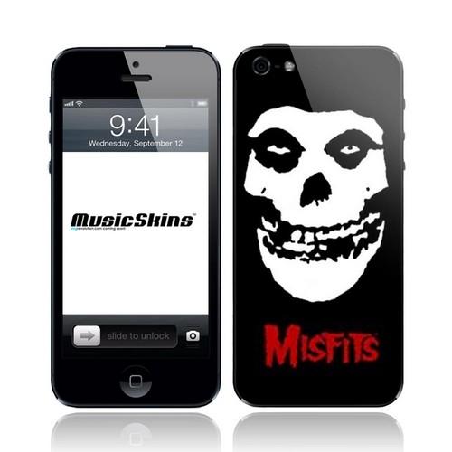 Music Skins Misfits Crimson Ghost Protective Skin for Apple iPhone 5/5S/5C