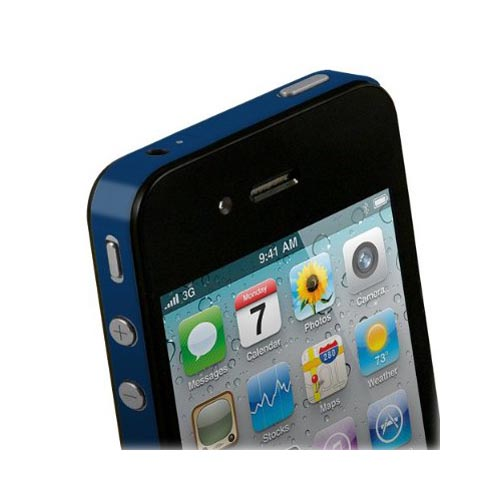 Original TruePower Apple iPhone 4 Thin Skin - Blue
