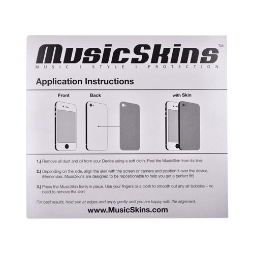 Original Music Skins Apple AT&T/ Verizon iPhone 4, iPhone 4S Protective Skin - Domo Face