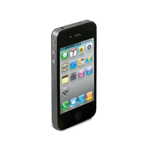 Original TruePower Apple iPhone 4 Thin Skin - Glitter Gray