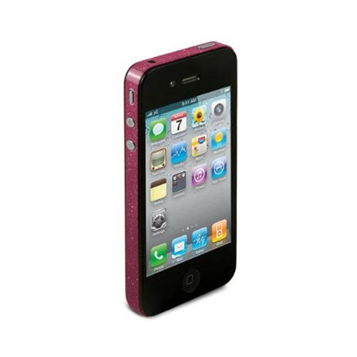 Original TruePower Apple iPhone 4 Thin Skin - Glitter Pink