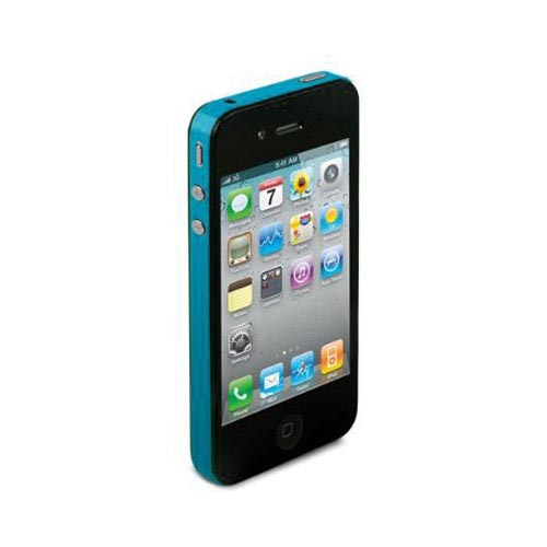Original TruePower Apple iPhone 4 Thin Skin - Light Blue