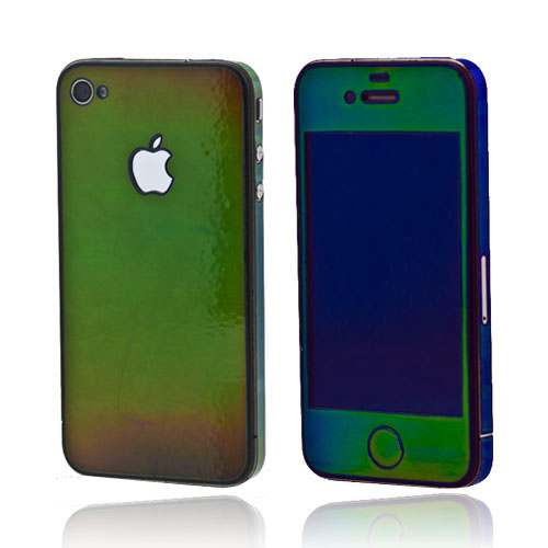 Original SlickWraps Apple AT&T/ Verizon iPhone 4, iPhone 4S Protective Skin - Mood Ring
