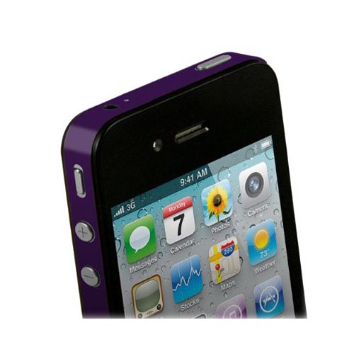 Original TruePower Apple iPhone 4 Thin Skin - Purple