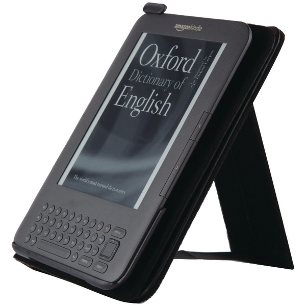 SPECK SPK-A0115 KINDLE(R) 3 DUSTJACKET (BLACK LEATHER)