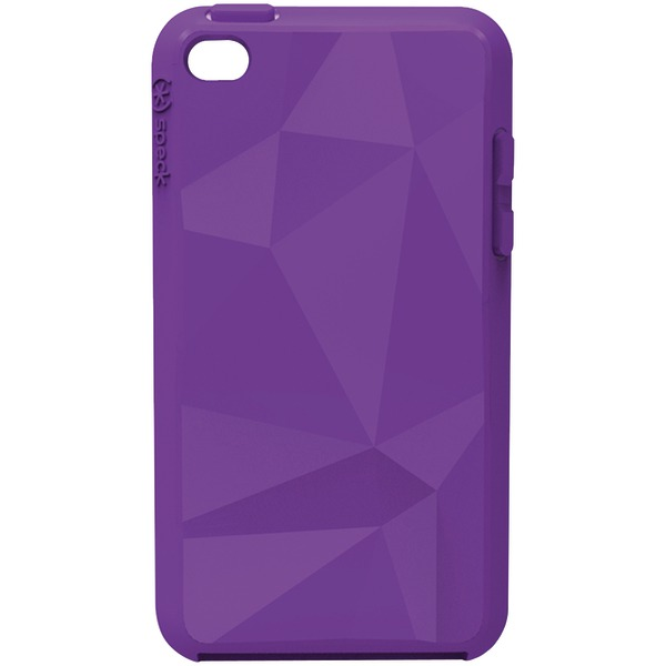 SPECK SPK-A0135 IPOD TOUCH 4G GEOMETRIC CASE (PURPLE)