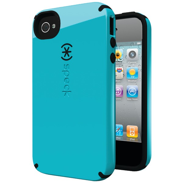 SPECK SPK-A0777 IPHONE(R) 4S CANDYSHELL CASE (PEACOCK/BLACK)