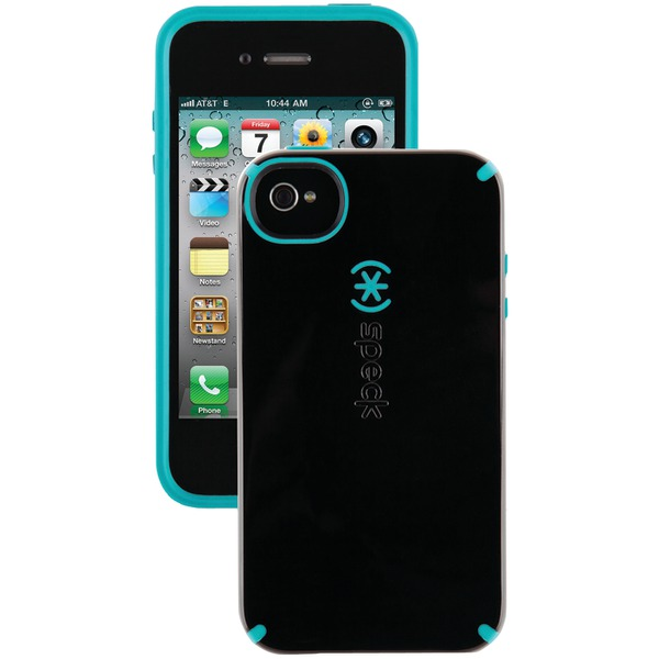 SPECK SPK-A0779 IPHONE(R) 4S CANDYSHELL CASE (BLACK/PEACOCK)
