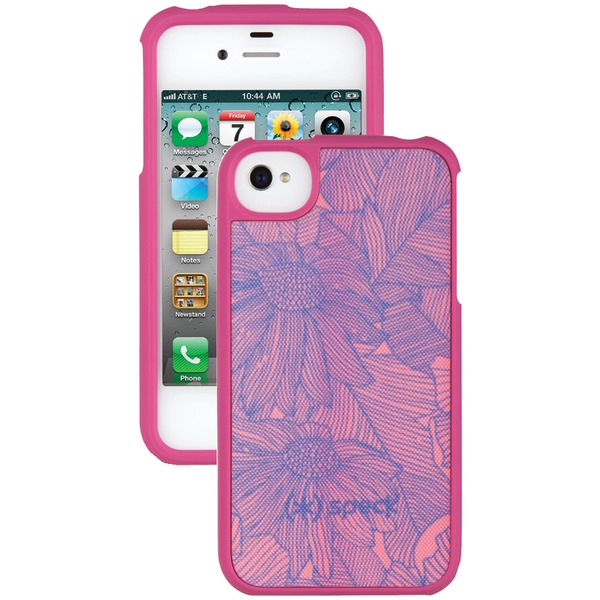 SPECK SPK-A0786 IPHONE(R) 4S FITTED CASE (FRESHBLOOM PINK)