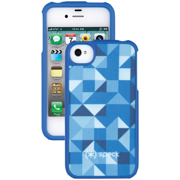 SPECK SPK-A0791 IPHONE(R) 4S FITTED CASE (SHAPESCAPE BLUE)