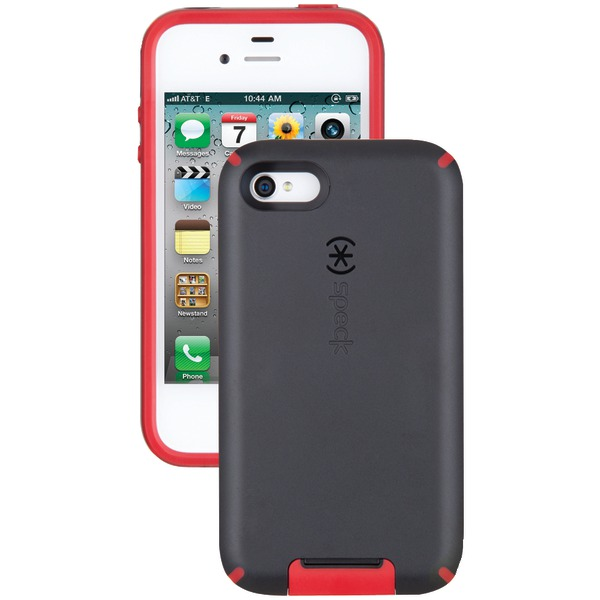 SPECK SPK-A0803 IPHONE(R) 4S CANDYSHELL VIEW CASE (BLACK/POMODORO)