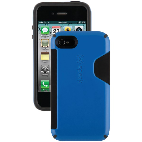 SPECK SPK-A0823 IPHONE(R) 4S CANDYSHELL CARD CASE (COBALT/BLACK)