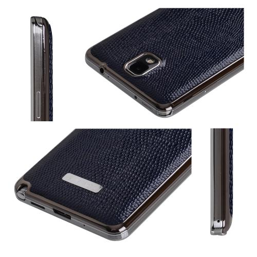Slimpack Navy Samsung Galaxy Note 3 leather textured battery door case