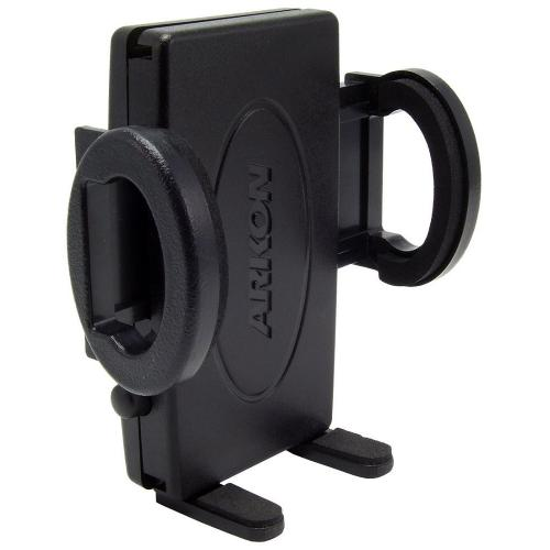 Arkon Black Universal Phone Holder - Mini Grip Mobile Phone Holder (Slim Version) for SM3xx Series