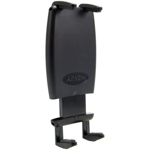 Arkon Black Slim-Grip Universal Mobile Phone Holder - Dual T Slot with Regular Texture