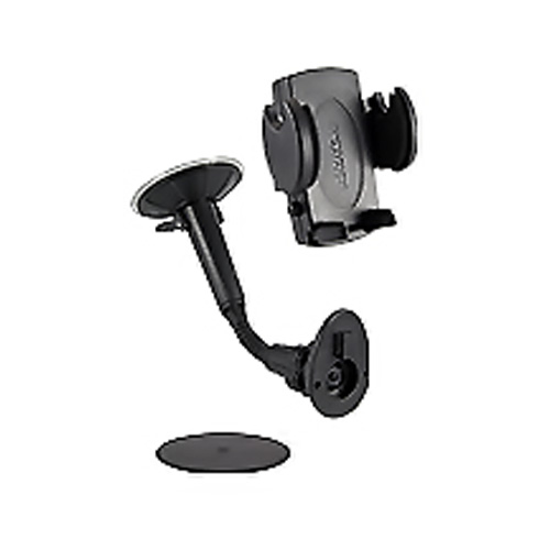 "Original Arkon Universal 9"" Car Windshield Suction Mount for Cell Phones & iPods, SM220 - Black"