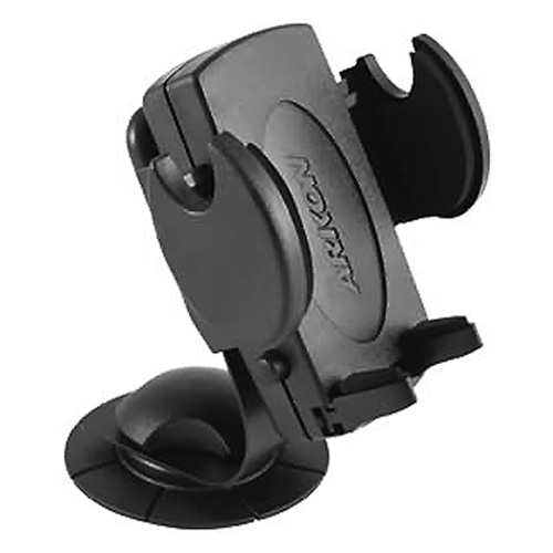Original Arkon Universal Bendable L-Shaped Car Dash Mount for Cell Phones, SM236 - Black