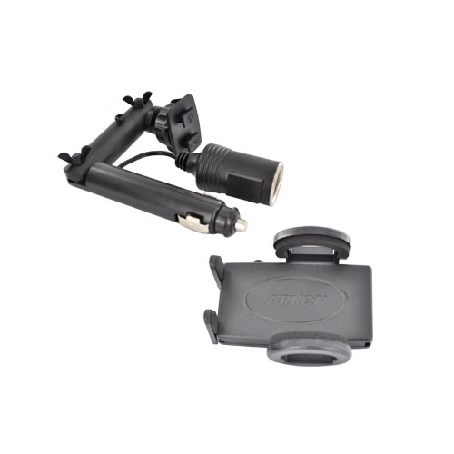 Original Arkon Universal Lighter Socket w/ Power Outlet Mount Kit, SM321 - Black