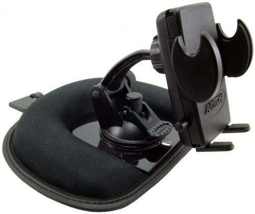 Arkon Black Mega Grip Mount - Mini Friction Dashboard Mount (SM012 + GN014-SBH + SM040-2)