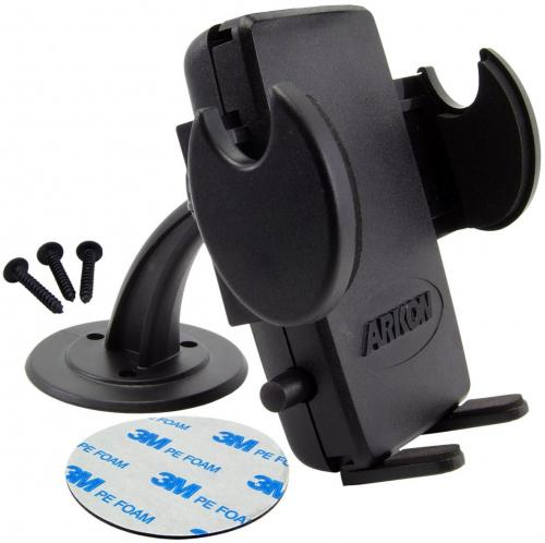 Arkon Black Mega Grip Mount - Dashboard / Desktop / Console Mount (GN016-SBH + SM040-2)