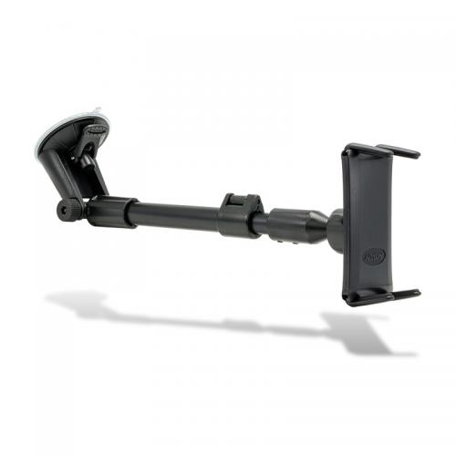 "Arkon Black Slim-Grip Smartphone Mount with 14.5"" to 18.5"" Rigid Extension Windshield Pedestal (SM050-2 + CM117-SBH)"