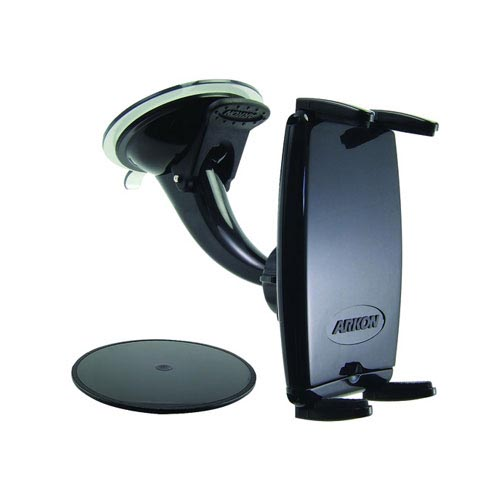 Original Arkon Universal Windshield and/ or Dashboard Mount, SM515 - Black