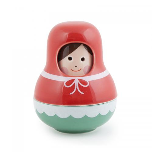 Kikkerland Little Red Riding Hood Salt & Pepper Shakers