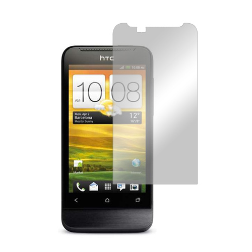 HTC One V Screen Protector w/ Mirror Effect