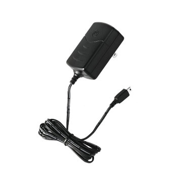 Original Motorola Black Mini USB Rapid Travel Charger