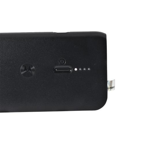 Motorola Black Universal External Battery Charger w/ USB Port & Micro USB Cable for Smartphones and Tablets