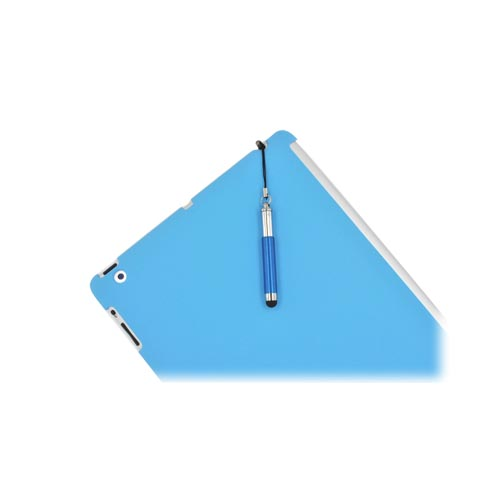 Universal Extendable Stylus Pen for Touch Screen (like iPhone 4/4S or New iPad) - Blue