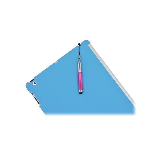 Universal Extendable Stylus Pen for Touch Screen (like iPhone 4/4S or New iPad) - Hot Pink
