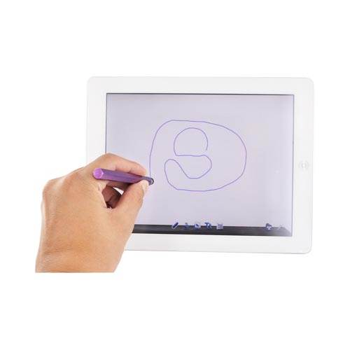Universal Metal Stylus Pen for Touch Screen - Purple