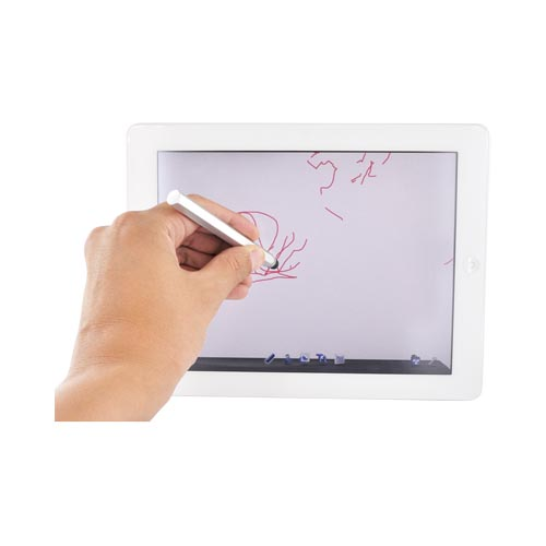 Universal Metal Stylus Pen for Touch Screen - Silver