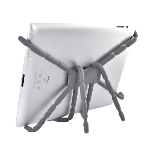 Original Breffo Apple iPad/Xoom/Tab Spider Podium Stand, SPTGRA - Gray