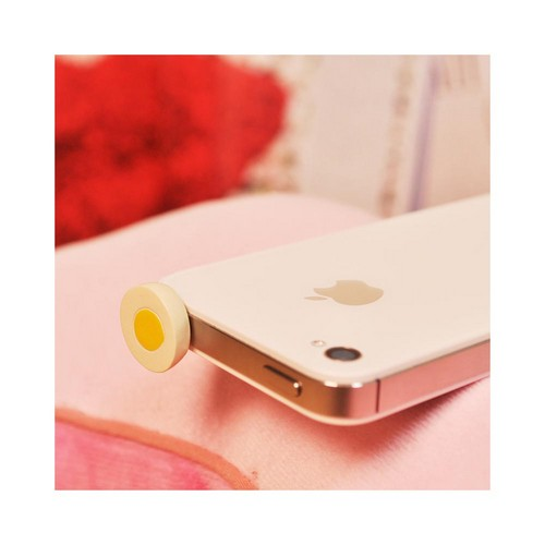 3.5mm Headphone Jack Stopple Charm - Eggcellent Egg