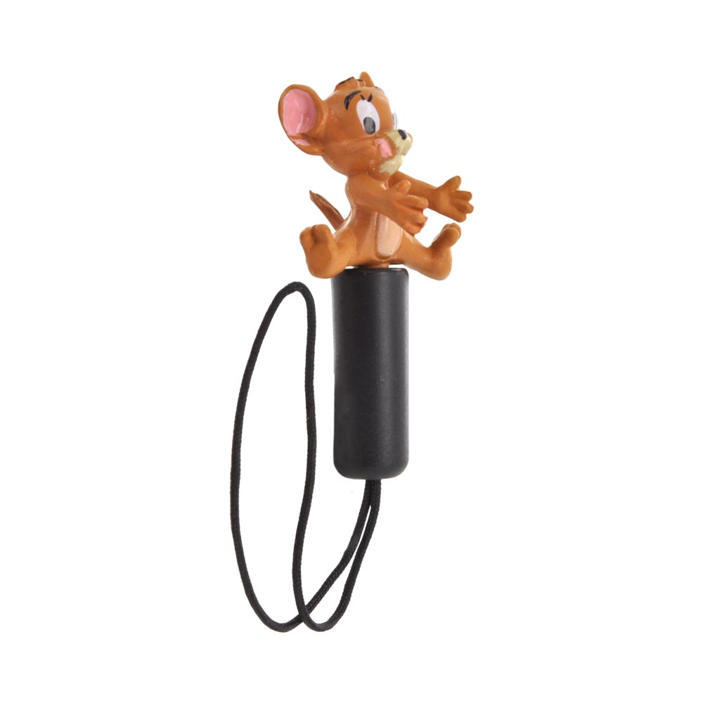 Original Warner Bros. Universal 3.5mm Headphone Jack Stopple Charm - Jerry Mouse