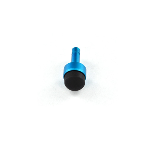 Universal 3.5mm Headphone Jack Stopple Charm/ Stylus - Blue