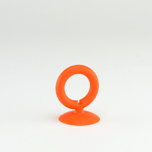 Orange Universal Portable Silicone Suction Cup Ring Stand Holder