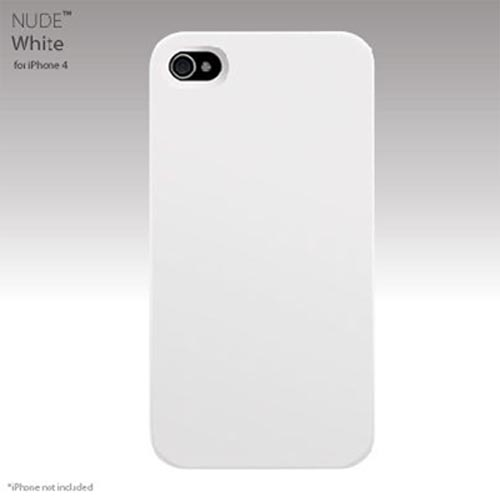 Original SwitchEasy Apple iPhone 4 Nude Slim Case, SW-NUI4-W - White
