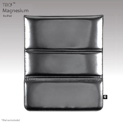 Original SwitchEasy Apple iPad (All Gen.) TRIG Sleeve/Stand Case, SW-TRIP-MA - Magnesium