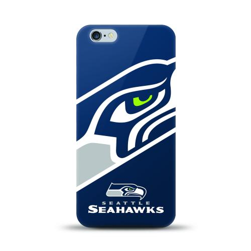 Apple iPhone 6 PLUS/6S PLUS (5.5 inch) Case, NFL Licensed [Seattle Seahawks] Protective Silicone TPU Case For Apple iPhone 6 PLUS/6S PLUS (5.5 inch)