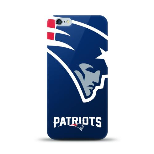 Apple iPhone 6 PLUS/6S PLUS (5.5 inch) Case, NFL Licensed [New England Patriots] Protective Silicone TPU Case For Apple iPhone 6 PLUS/6S PLUS (5.5 inch)