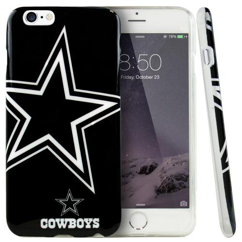 Apple iPhone 6 PLUS/6S PLUS (5.5 inch) Case, NFL Licensed [Dallas Cowboys] Protective Silicone TPU Case For Apple iPhone 6 PLUS/6S PLUS (5.5 inch)