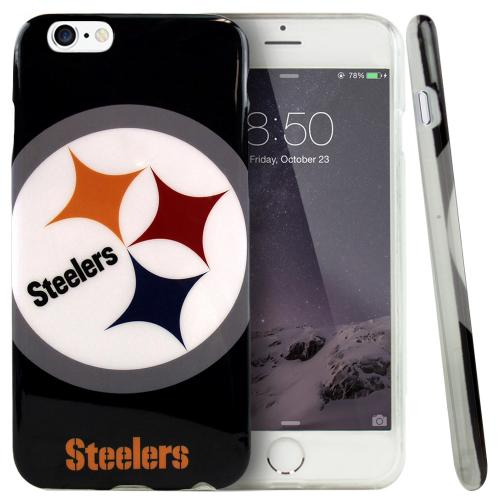 Apple iPhone 6 PLUS/6S PLUS (5.5 inch) Case, NFL Licensed [Pittsburgh Steelers] Protective Silicone TPU Case For Apple iPhone 6 PLUS/6S PLUS (5.5 inch)